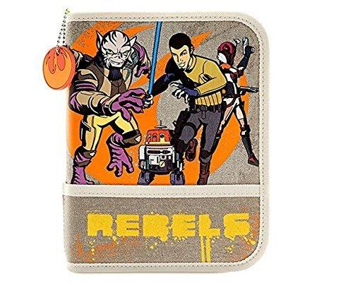 Star Wars Rebels Zip-up Stationery Kit/set for Kids - 30+items