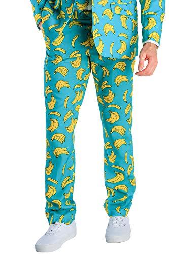 Tipsy Elves Men's Havana Banana Suit Pants - Banana Suit Pants for Guys