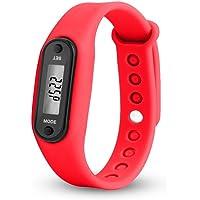 Kanpola Kadın Erkek Kauçuk LED Saatler Tarih Spor Bileklik Dijital Kol Saati Run Step Walking Distance Watch Adım Sayacı…
