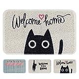 Cheap Cayman Pets Pet Feeding Mat-Dog Food Mat and Cat Food Mat, Pet Bowl Mat, Cat Litter Mat, Water Resistant Door Mat, Large Size, 29.5″ by 18″ (Sweet Home)