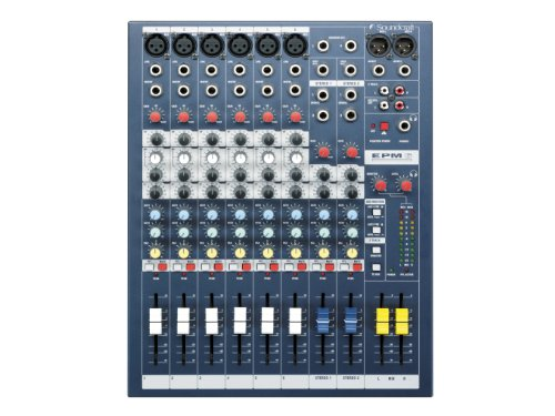 Soundcraft EPM6 High-Performance 6-channel Audio Mixer by Soundcraft