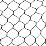 Lightweight Polyethylene Game Bird Netting - 50' x 150' x 1