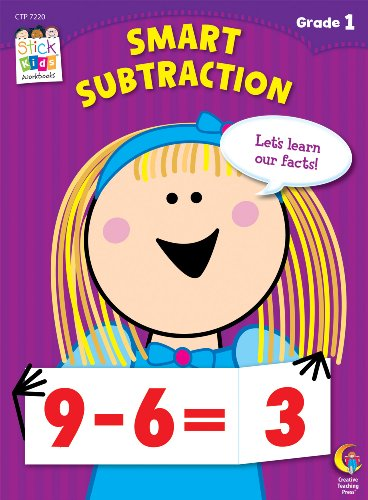 Smart Subtractions Stick Kids Workbook, Grade 1 (Stick Kids Workbooks)
