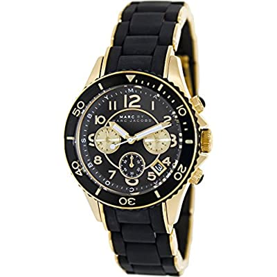 Marc by Marc Jacobs MBM2598 Rock Matte Black Chronograph Watch