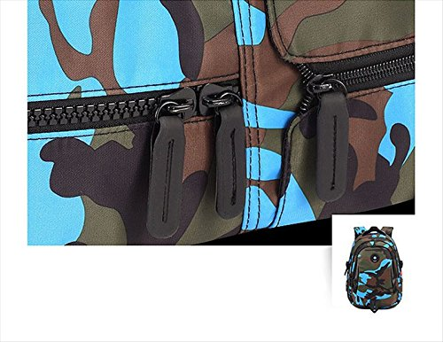 Camouflage Backpack, Large Capacity Water-Resistant Student Children School Bag by MATMO (Image #5)