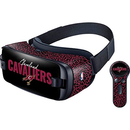 NBA Cleveland Cavaliers Gear VR with Controller (2017) Skin - Cleveland Cavaliers Elephant Print Vinyl Decal Skin For Your Gear VR with Controller (2017)