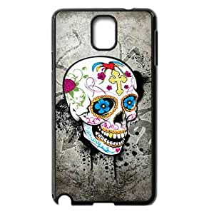 C-EUR Customized Print Skull Hard Skin Case Compatible For Samsung Galaxy Note 3 N9000