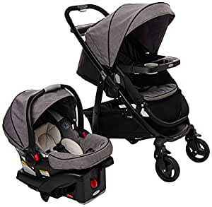 graco modes click connect travel system stroller downton baby. Black Bedroom Furniture Sets. Home Design Ideas