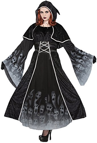 UHC Women's Forgotten Souls Outfit Horror Theme Halloween Plus Size Costume, Plus (18-22)