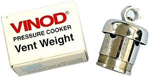 Vinod Cookers Pressure Regulator, Small, Stainless Steel