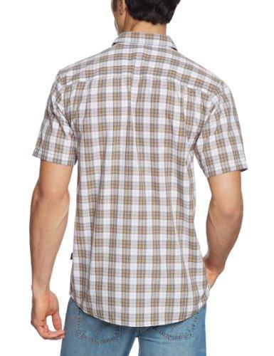 Courtes Face Sentinal À Logo The Chemises Spire Marron Multicolore Pour Homme Manches North 1awZX