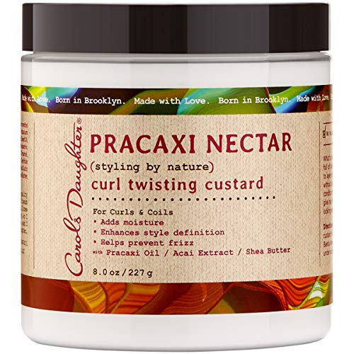 - Carol's Daughter Pracaxi Nectar Curl Twist Custard, For All Hair Types, 8 oz (Packaging May Vary)