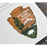 Old National Park Service Logo Emblem Vinyl Sticker Decal Car Laptop Window Wall