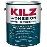 KILZ Adhesion High-Bonding Interior Latex Primer/Sealer, White, 1 gallon