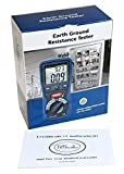 DT-5300 Industrial Digital Earth Ground Resistance Tester Ohm DC/AC Volt Meter
