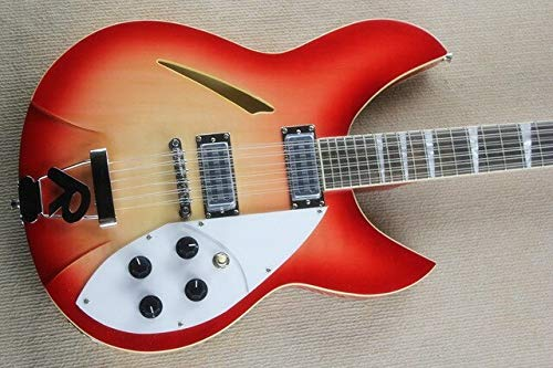 BEESCLOVER Custom red Back 360 semi Hollow Body 12, used for sale  Delivered anywhere in Canada