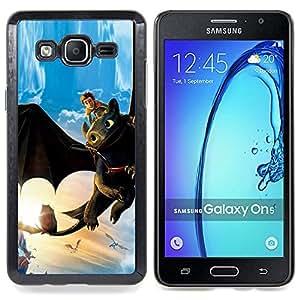 SKCASE Center / Funda Carcasa protectora - Tame Dragón;;;;;;;; - Samsung Galaxy On5 O5