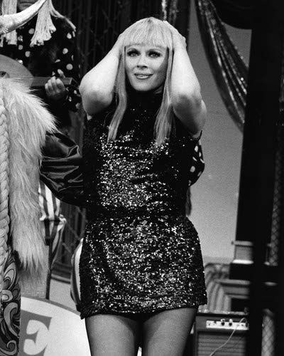 Mary Costa in The Milton Berle Show opera legend in sexy mini dress 16x20 Poster ()