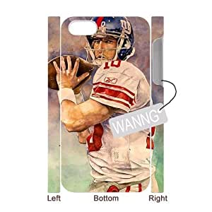 Eli Manning Iphone4,4g,4s Plastic 3D Case. Eli Manning DIY Case for Iphone4,4g,4s at WANNG