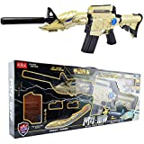 HAPPYTOYS Electric Game Soft Water Bullet Gun Outdoors Toys, Gold