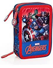 The Avengers 66324 pennskrin, trippelfylld, 44 skoltillbehör 20 cm.