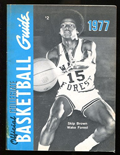 1977 NCAA Official Basketball Guide Skip Brown Wake Forest Ex 15658 ()