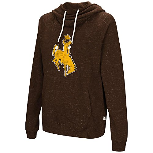 - Womens Wyoming Cowboys Pull-Over Hoodie - S