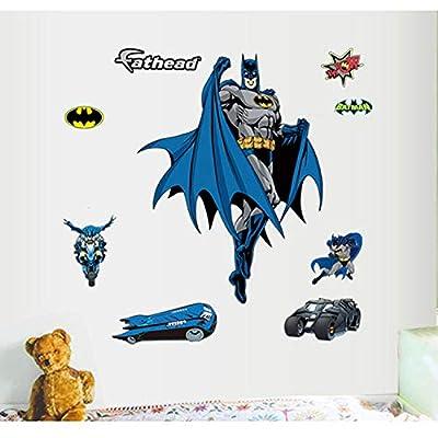 Gadfly- Batman Stick Nursery/Baby Wall Sticker Decal: Home & Kitchen