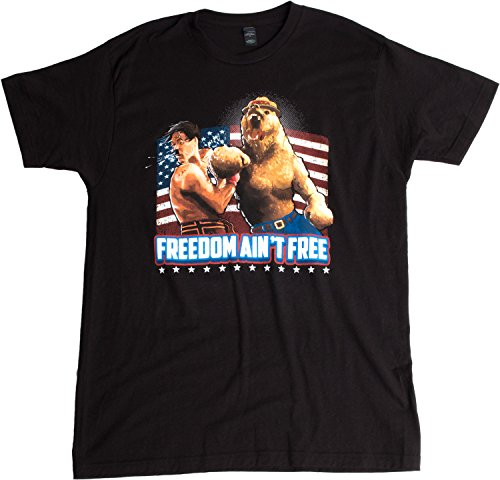 "Merica Bear's KO for Liberty | USA ""Freedom Ain't Free"" American Unisex T-shirt"