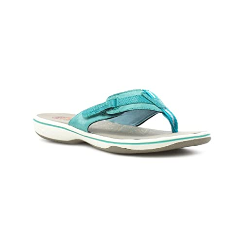 58a9454bf Earth Spirit Womens Teal Leather Comfort Sandal  Amazon.co.uk  Shoes   Bags