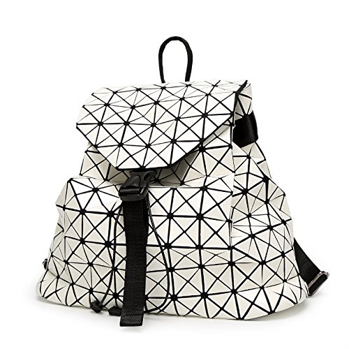 Pieghevole Borsa Zaino A Da Estate Mano Di Giapponese Impunture Stile Rombo White Zaino WLFHM Cubo Primavera Rubik Viaggio 6qxtpOZEnw