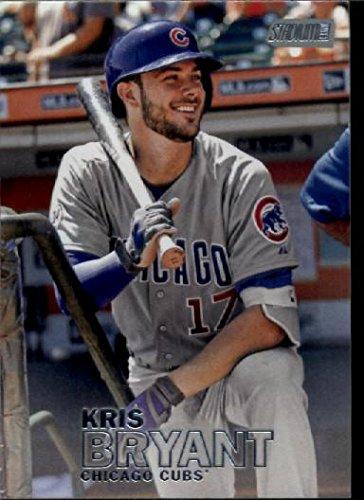 2016 Topps Stadium Club #236 Kris Bryant Chicago Cubs Baseball Card - Cubs Stadium Club