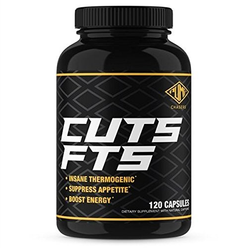 Pump Chasers Cuts FTS – Fat Burner Supplement – Appetite Suppressing Thermogenic