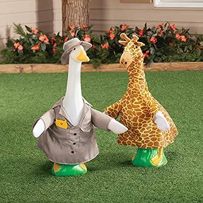 Fox Valley Traders Giraffe Goose Outfit : Garden & Outdoor
