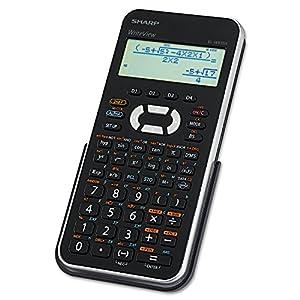 Sharp EL-W535XBSL Engineering/Scientific Calculator with WriteView 4 Line LCD Display