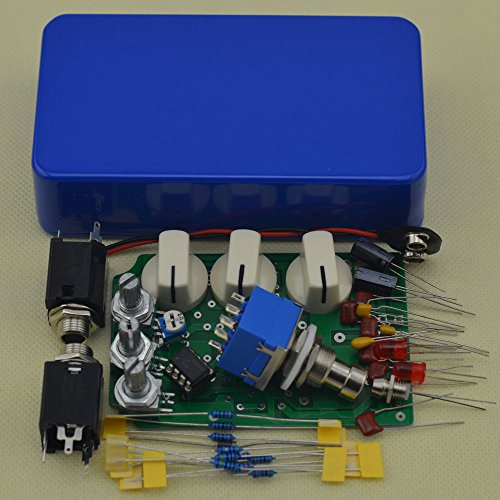 Make Your Own Distortion Guitar Pedal DS-1 Effects Stompbox Kit Blue by TTONE