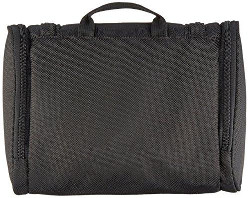 51Iso70eToL - AmazonBasics Hanging Travel Toiletry Kit Bag - Black