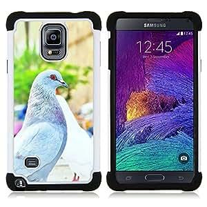 """Pulsar ( Paloma Paloma Italia Florencia Summer Sun"""" ) Samsung Galaxy Note 4 IV / SM-N910 SM-N910 híbrida Heavy Duty Impact pesado deber de protección a los choques caso Carcasa de parachoques"""