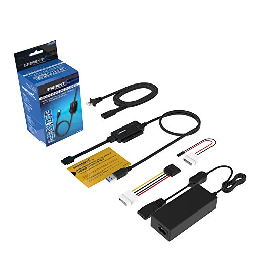 sabrent usb to sata ide adapter instructions