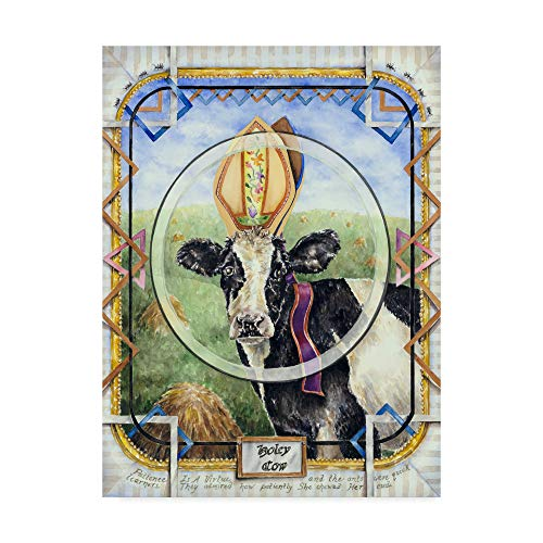 - Trademark Global Charlsie Kelly 'Holey Cow' Canvas Art