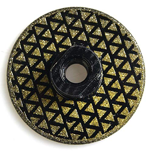 Triang with Flange M14 Thread Diamond Blade 80mm Electroplated