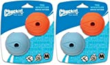 Chuckit! The Whistler Ball Medium 4pk (2 x 2pk)