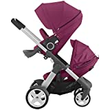 Stokke Crusi Stroller and Sibling Seat (Purple)