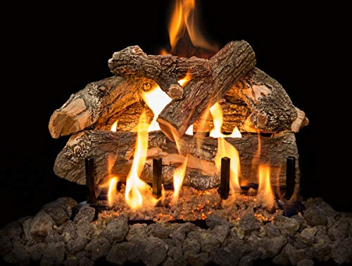 Grand Canyon Gas Logs AWOST18LOGS Arizona Weathered Oak See-Through Logs44; 18 in.