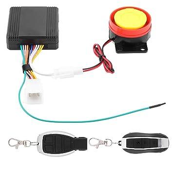 12v Moto Kit de Seguridad Antirrobo Sistema de Alarma ...