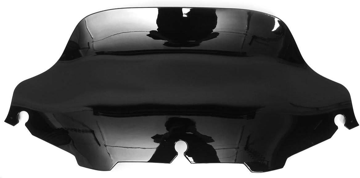 Viviance 8 Pouces Wave Pare-Brise pour Harley Electra Street Glide Touring 96-13 Transparent