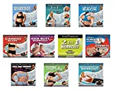 Pilates Power Gym 'Extreme' 10 DVD Celebrity Trainer Set featuring Kristin McGee, Steve Maresca, Marlo Fisken and More