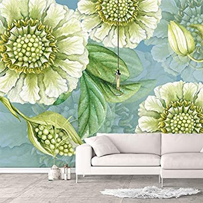 Professional Creation, Amazing Craft, Wall Murals for Bedroom Green Plants Animals Removable Wallpaper Peel and Stick Wall Stickers