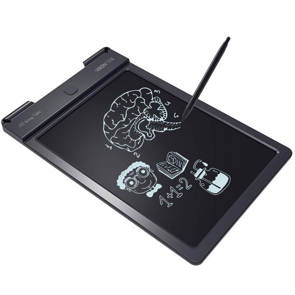 Lcd Writing Board Children'S Drawing Graffiti Electronic Blackboard Light Can Write Board Electronic Drawing Board(13 Inches) by LZSECSOE