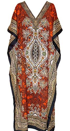 New Free Size Kaftan Dress Tunic Long Maxi Kimono Caftan Drawstring Gown Nightdress Beach Party Casual Dress